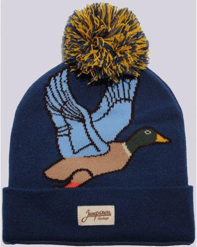 Синяя шапка Запорожец Heritage