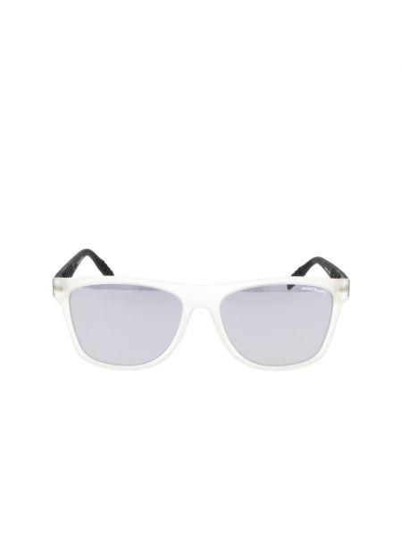Białe okulary Montblanc