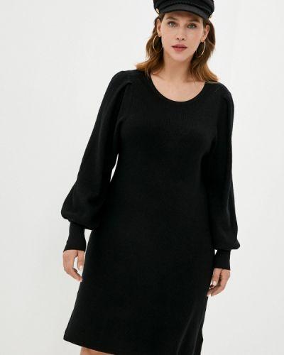 Черное платье-свитер Zizzi