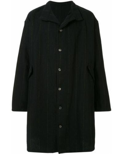 Прямое длинное пальто на пуговицах Bergfabel