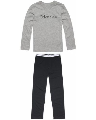 Czarna piżama Calvin Klein