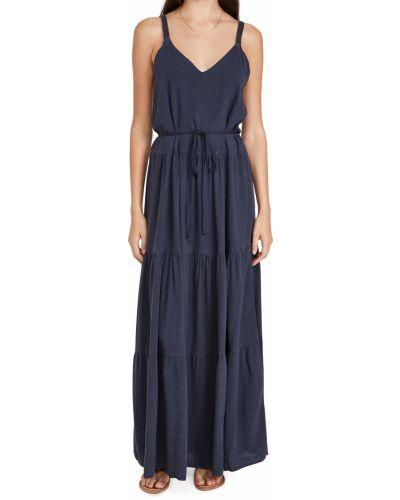 Текстильное платье с декольте Splendid
