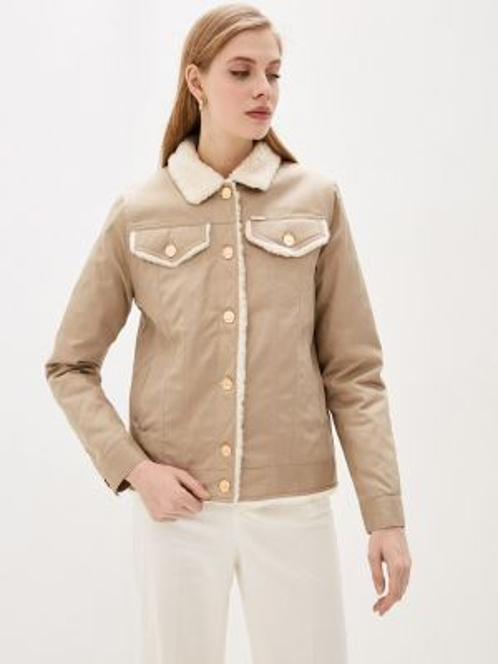 Утепленная куртка - бежевая Dasti