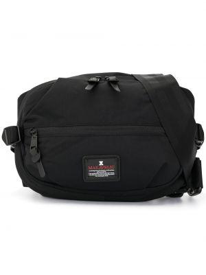 Поясная сумка сумка-рюкзак черная Makavelic