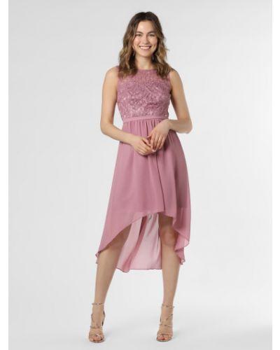 Różowa sukienka wieczorowa Marie Lund