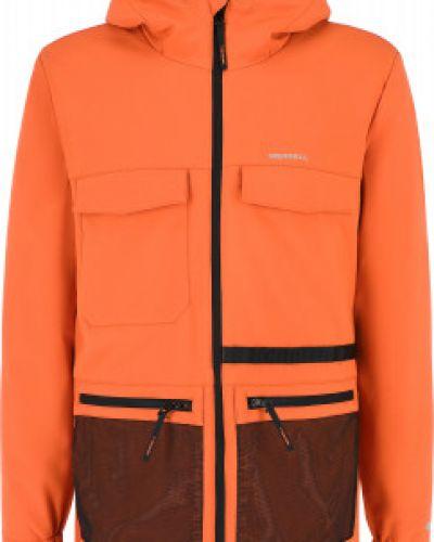 Оранжевая куртка из полиэстера Merrell