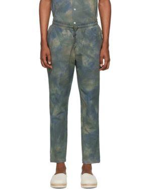 Spodnie na gumce o prostym kroju z kieszeniami Aime Leon Dore
