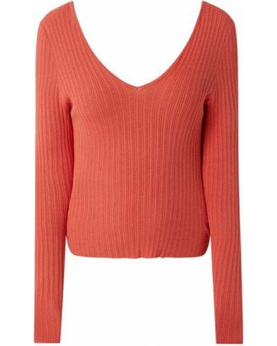 Sweter z dekoltem w serek Only