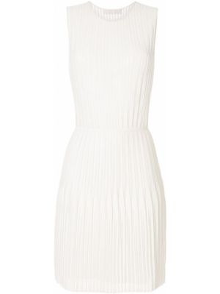 Платье плиссированное годе Dion Lee