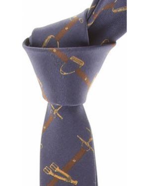 Złoty krawat - żółty Frankie Morello