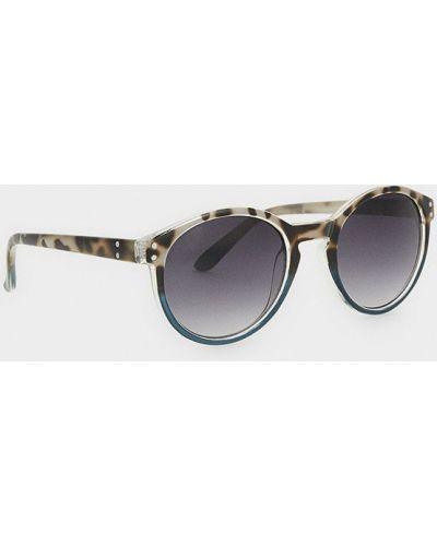 Солнцезащитные очки стеклянные коричневый Parfois