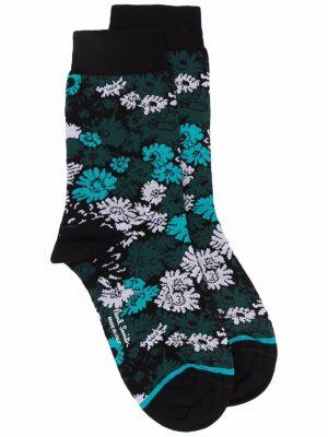 Носки с принтом - черные Paul Smith