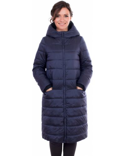 Зимнее пальто с капюшоном прямое J-splash