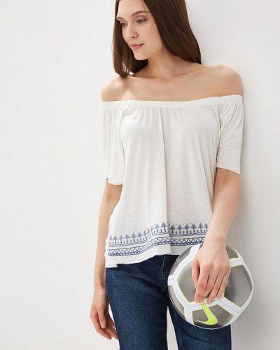 Белая блузка с открытыми плечами Ovs