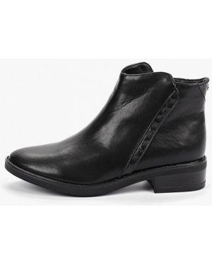 Кожаные ботинки осенние черные T.taccardi