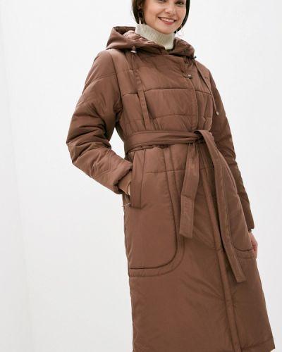 Утепленная куртка - коричневая D`imma