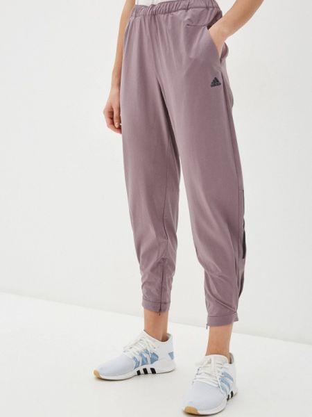 Спортивные брюки розовый весенний Adidas