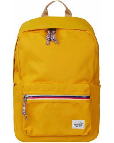 Żółty plecak w paski American Tourister