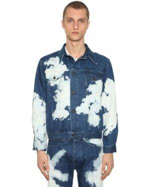 Niebieskie jeansy bawełniane Calvin Klein Established 1978