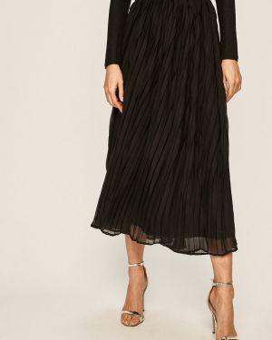 Плиссированная юбка макси с завышенной талией Only