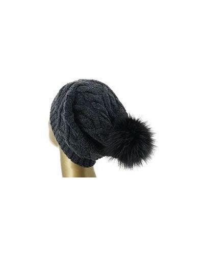 Серая шерстяная шапка Eleventy