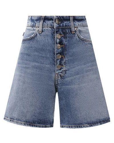 Хлопковые синие джинсовые шорты Two Women In The World