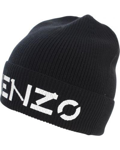 Czarna czapka Kenzo