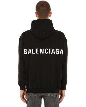 Bluza z kapturem z kapturem Balenciaga