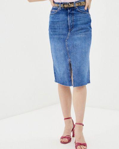 Джинсовая юбка - синяя Guess Jeans