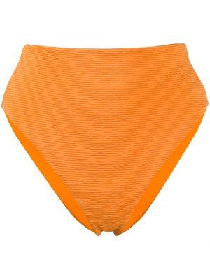 Плавки с завышенной талией - оранжевый Mara Hoffman