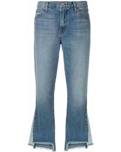 Расклешенные джинсы с карманами с поясом J Brand