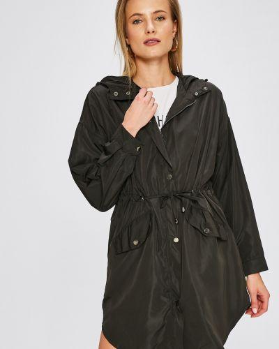 Куртка с капюшоном в полоску облегченная Answear