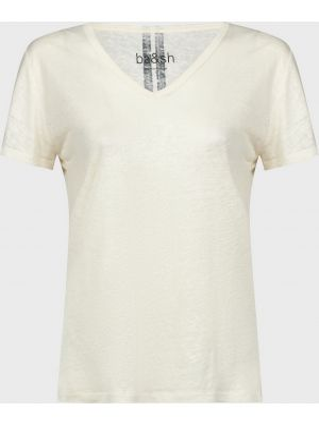 Футбольная белая футболка Ba&sh