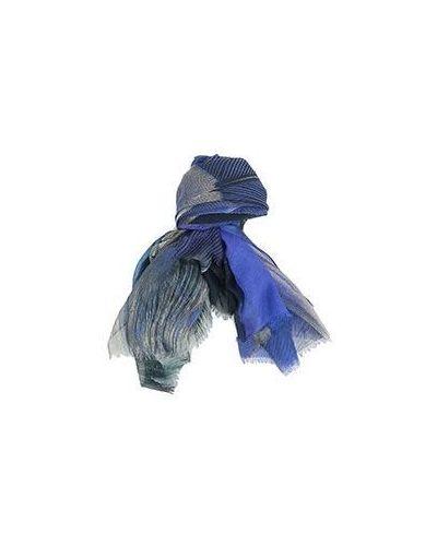 Синий палантин Emporio Armani