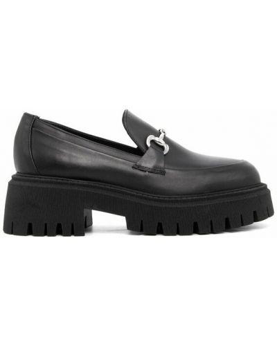 Loafers - czarne Curiosite