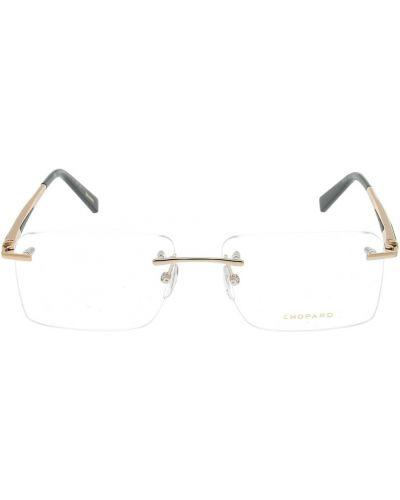 Żółte okulary Chopard