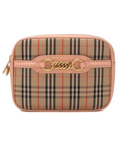 Поясная сумка розовый Burberry