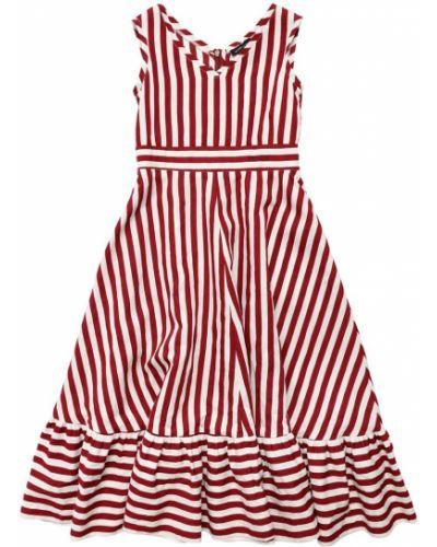 Муслиновое платье - белое Monnalisa