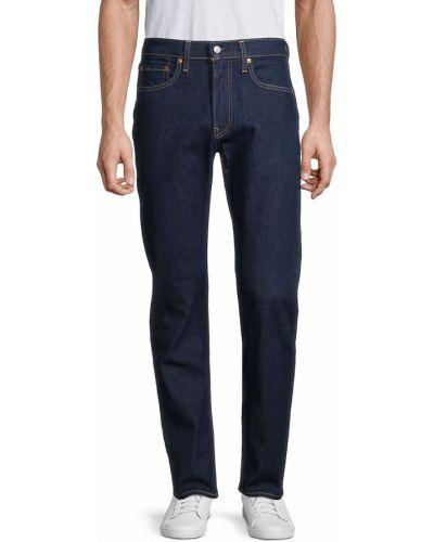 Niebieskie mom jeans bawełniane Levi's Premium