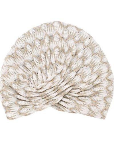 Белый головной убор Missoni