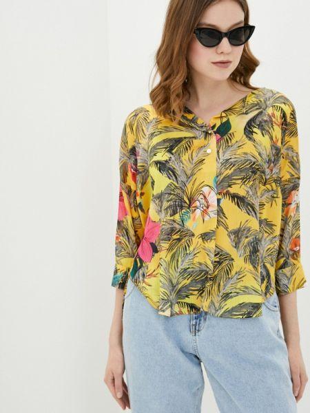 Желтая блузка Adl