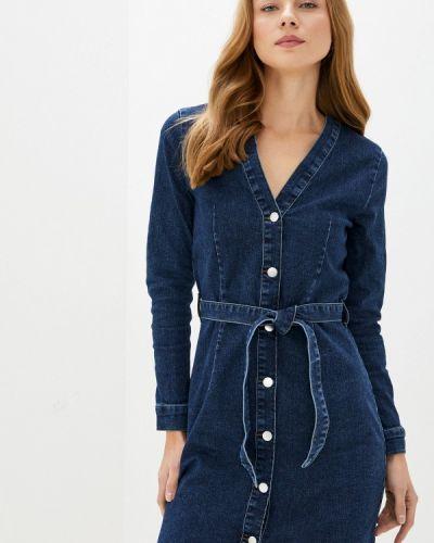 Синее джинсовое платье Jacqueline De Yong