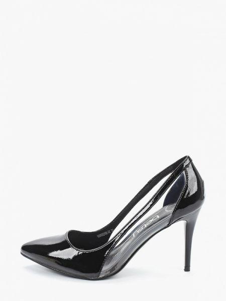 Кожаные лаковые черные кожаные туфли Betsy