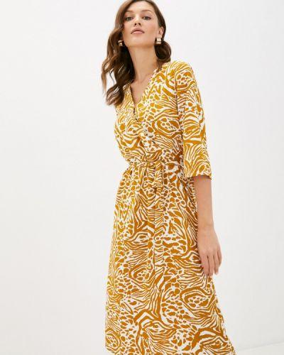 Прямое желтое платье Jacqueline De Yong