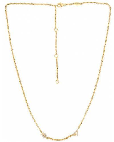 Гипоаллергенное ожерелье золотое металлическое Baublebar