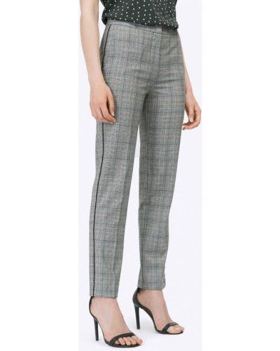 Серые зауженные брюки Emka