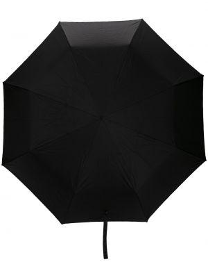 Czarny parasol z czaszkami metal Mcq Swallow