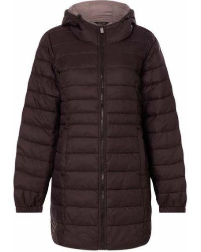 Czarny płaszcz z kapturem z nylonu Only Carmakoma