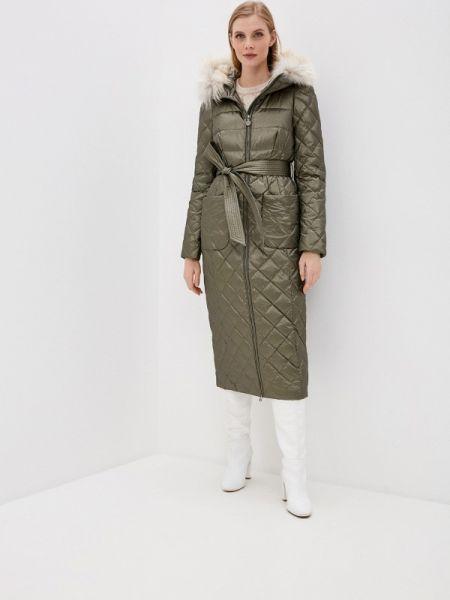 Зимняя куртка весенняя зеленая Naumi