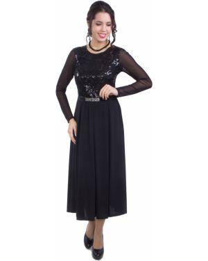 Вечернее платье макси платье-сарафан Wisell